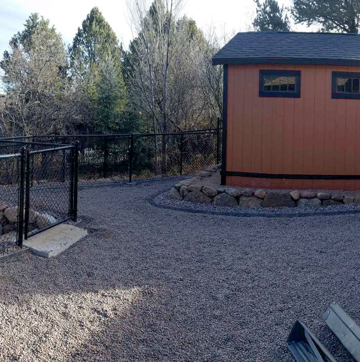 Residential K9Grass artificial turf before photo